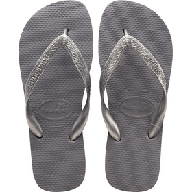 havaianas Top Tiras Sandalen Dames, steel grey